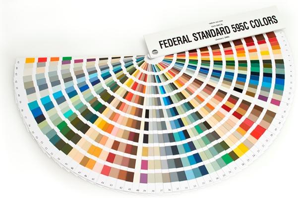 Us Federal Standard 595c Color Fans