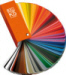RAL Classic K5 fan-deck with 213 colours. Full page colour swatches 150x50mm.